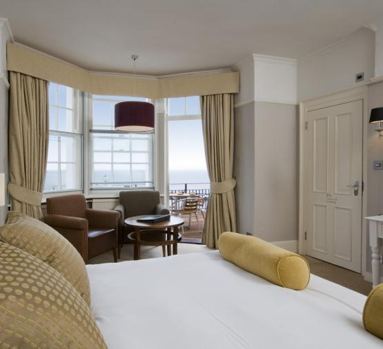 Royal Albion Hotel - Superior Double / Twin with Sea View