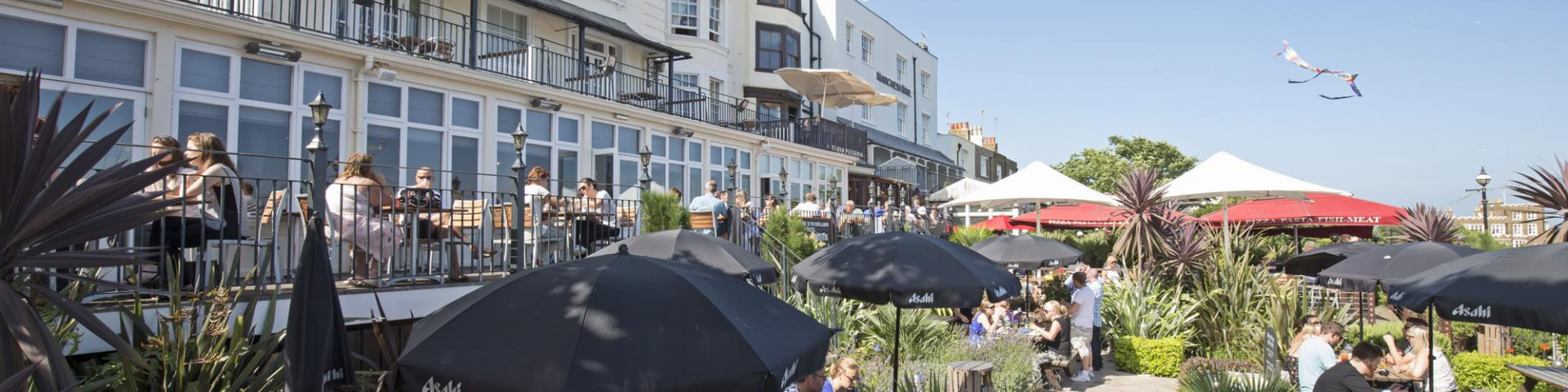 Royal Albion, Broadstairs - Terrace